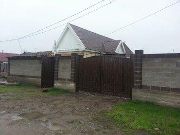 Срочно продаю дом 4 комнатный новый пригородный умут свет вода огороже in Бишкек