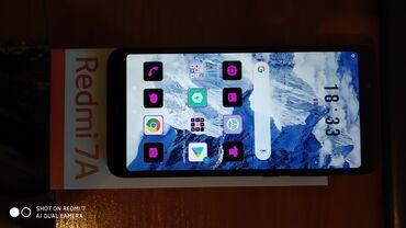 Телефон бишкек купить - Кыргызстан: Б/у Xiaomi Redmi 7A 32 ГБ Синий