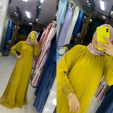 летнее платье 52 размера в Кыргызстан: Жельбаб. Ткань Дубайский шёлк. Размер 52