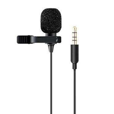 акустические-системы-archeer-с-микрофоном в Кыргызстан: Микрофон петличка для телефона (4 pin) бишкекПетличный микрофон