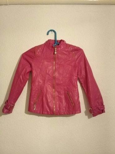 Детский мир - Талас: Куртка кожаная на рост 146. в состояние нового. в Таласе