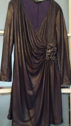 Haljina svecana,grudi 100cm,,struk 90,duzina 96cm,materijal je - Belgrade