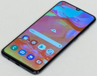 chekhly na aifon 6 в Кыргызстан: Б/у Samsung A70 128 ГБ Синий