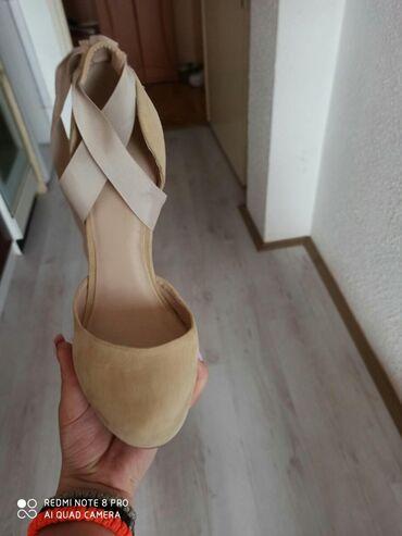 Ženska obuća | Srbija: Noveee Vel 37 Prelepeee uzivooImaju trakice za oko nogu Cena fixnaa