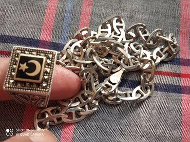 Мусульманский печатка и трос ручная работа