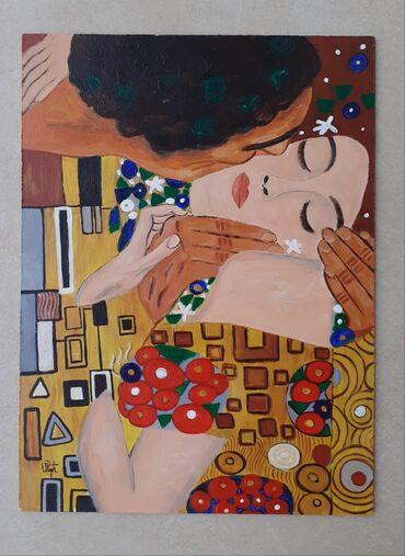 Klimt Poljubac