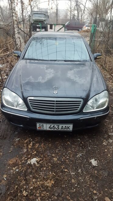 диски автомобильные в Кыргызстан: Mercedes-Benz S 500 5 л. 1999