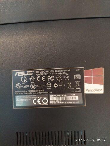 оперативка для ноутбука в Кыргызстан: Продаю ноутбук б/у   ASUS model : ( x550c)   Core i3   Ядр