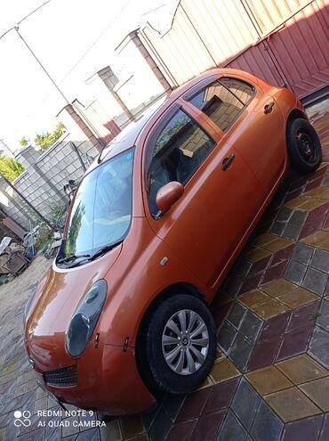 Транспорт - Тынчтык: Nissan March 1.2 л. 2003   182744 км
