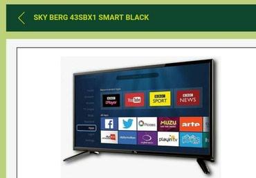 Bakı şəhərində 108 ekran smart Sky Berg  televizor alana