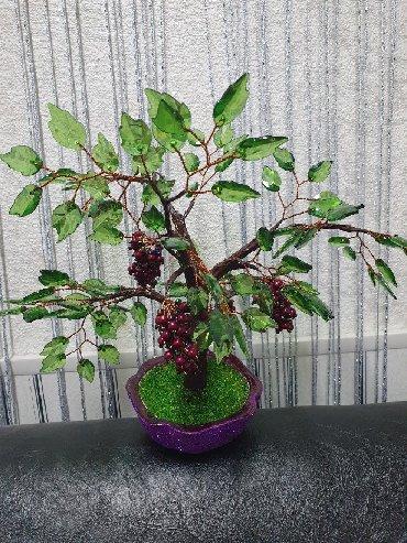 цветы для домашнего декора в Кыргызстан: Бисерные деревья и цветы ручной работы хороший подарок для близких и