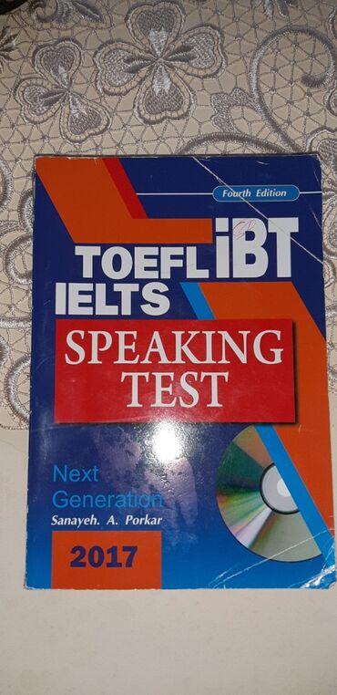 İELTS, TOEFL, İBT speaking test kitabı. Təzədir, ciddi olanlara