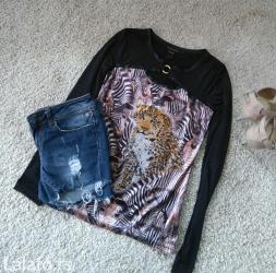 Made in Italy bluzica Roberto Cavalli sa animal printom i tigar od - Novi Sad