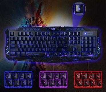 Игровая клавиатура Zeepin Доставка по городу + в Бишкек