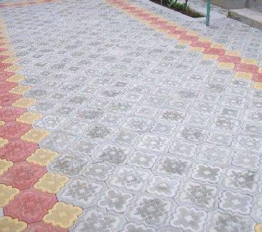 укладка брусчатки и бордюры в Кыргызстан: Укладка брусчатки качество . Гарантия 100%