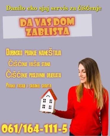 Danilo Eko sjaj firma vam pruza usluge ciscenja brzo i kvalitetno