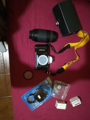 Πωλείται σε παρα πολύ καλή κατάσταση κάμερα nikon f-401, film 35 mm
