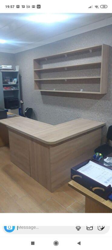 Ev və bağ Ağdamda: Ofis masası .dest 200 azn.tezedi.tepteze