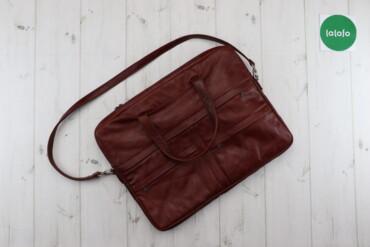 Чоловіча сумка із ручками   Матеріал: натуральна шкіра Довжина: 43 см