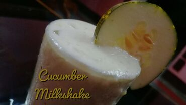 Cucumber shake at home  Try it yourself  https://youtu.be/BB0hw5q5iCU