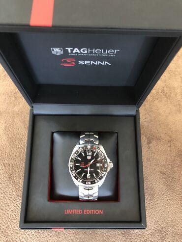 Швейцарские часы Tag Heuer F1 Senna Limited Edition, Quartz. Куплены в