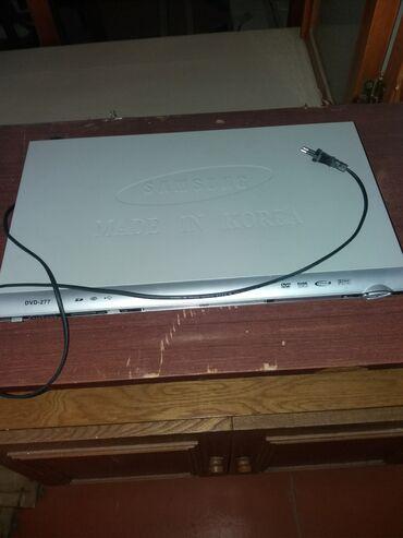 dvd плеер samsung в Азербайджан: DVD Player təcili satılır. Qiyməti 35 manatdır. Metroya çatdırılma