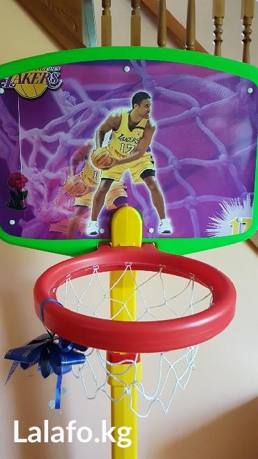 Баскетбольные кольцо. высота регулируется. состояние новой вещи. в Лебединовка