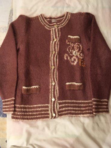Vuneni džemper br. 36–38, moher, odličan, topao, boje cimeta sa - Belgrade
