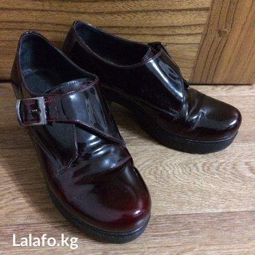 Ботинки кожаные размер 37 в отличном состоянии  в Бишкек