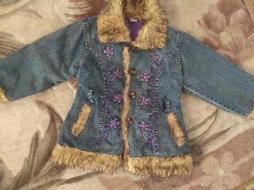 вязаные наволочки на подушки спицами в Кыргызстан: Куртка джинсовая на 4годика цена 250с р-н Орто сайский рынок