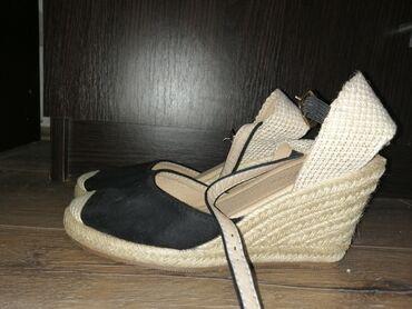 Na prodaju sandale sa potpeticom, kao nove, veoma udobne, nosene samo