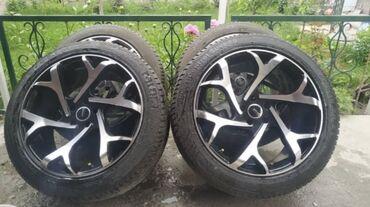 Продаю диски вместе шинами от Range Rover R21/ 5x120 привозные из