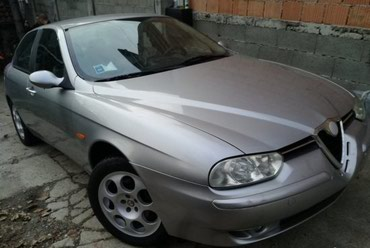 Alfa romeo 147 1 6 mt - Srbija: Delovi za Alfa Romeo 156Originalni polovni delovi 147-156