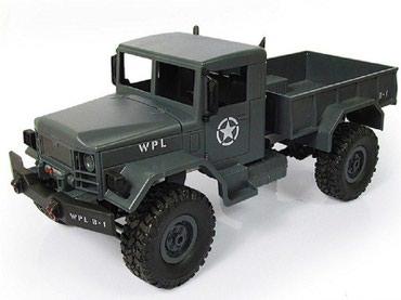 Р/У машина WPL военный грузовик (серый) в Бишкек