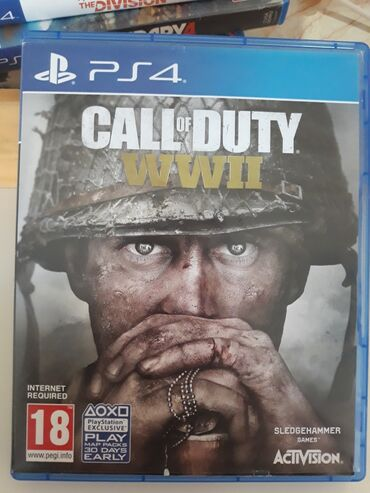PS 4 igrica CALL OF DUTY WWII