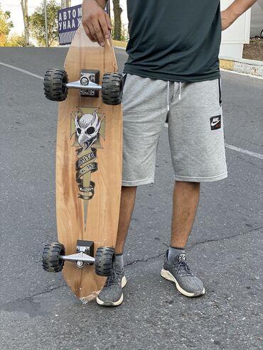 Лонгборд или скейтборд   Для любителей экстремальной езды  Диаметр кол