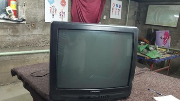 телевизор 72 диагональ в Кыргызстан: Продаю телевизор в отличном состоянии, диагональ 72 см, кинескоп не
