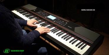 ev alqi satqisi vergisi - Azərbaycan: KORG HAVIAN 30 - elektron pianinoHavian 30, klasik grand piyano