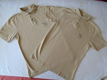 Dve iste polo majice brenda Safran M i L veličine. Mere za L su: od - Belgrade
