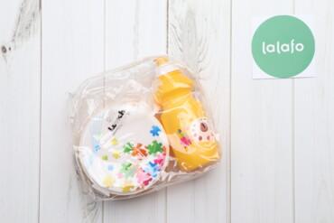 Кухонные принадлежности - Украина: Дитячий ланч-бокс із пляшкою   Стан: дуже гарний, в комплекті є виделк