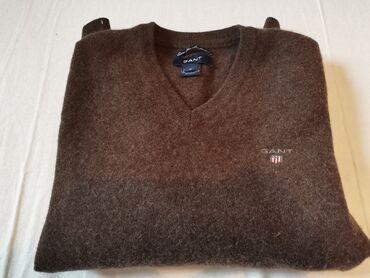Braon bermude - Srbija: GANT džemper Najfinija kozija vunaBraon boje, na etiketi M veličina