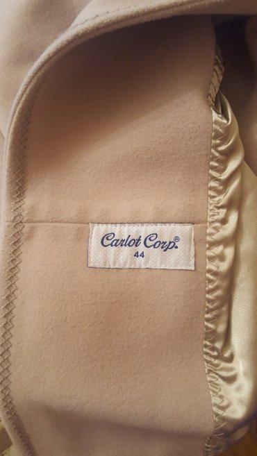 Продаю пальто-цвет бежевый, пр-во в Бишкек