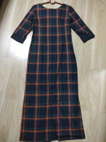 Платье женское длинное турция теплое размер 48-50 брала за 5000 в Бишкек