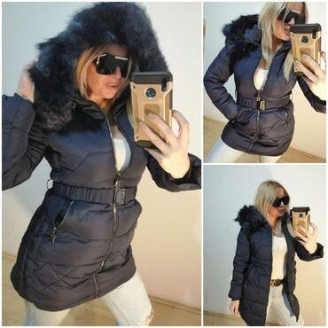Tople zimske jakne iz turske sa krznom na kapuljaci