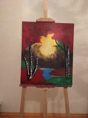 Ev üçün dekor Bakıda: Yağlı boya ilə çəkilib qabarıq tablolardır dəyərindən aşağı qiymətə