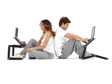Улучшенный Стол-Трансформер с активным охлаждением для ноутбука +БЕСПЛ
