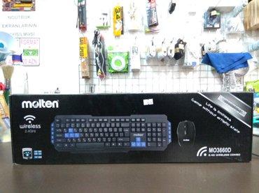Bakı şəhərində Model: Molten MO3660DNaqilsiz klaviatura və mouse, 2 in 1Yenidir.