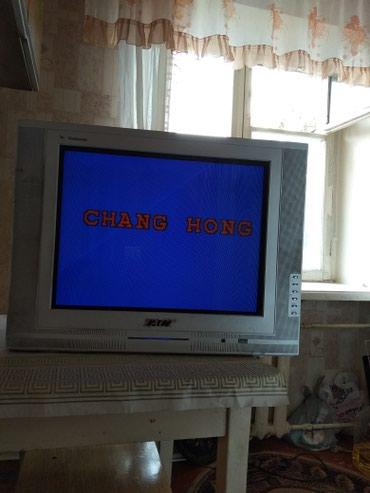Продаю телевизор в рабочем состоянии. 1500 сом. Торг уместен в Бишкек - фото 2