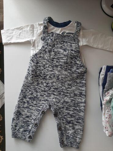 брендовые одежды в Кыргызстан: Пакет одежды! Слипы, песочник, комбинезон для малыша на рост 62-74 см