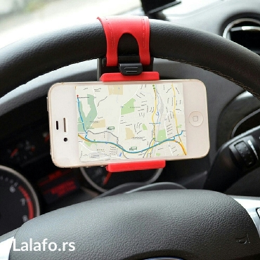 Univerzalni drzac telefona na volanu vozila. Obziran i praktičan,  - Kragujevac - slika 6